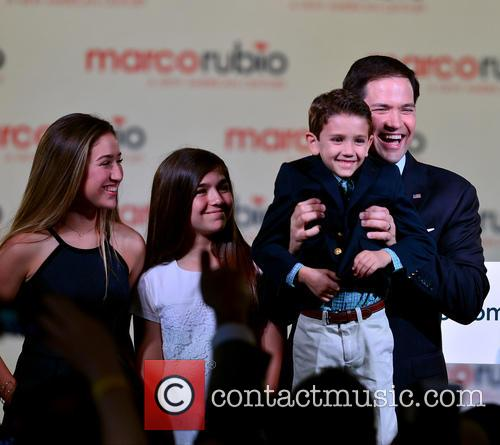 Marco Rubio, With Wife Jeanette Rubio and Family 10