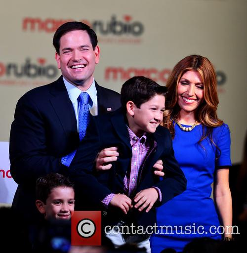 Marco Rubio, With Wife Jeanette Rubio and Family 11