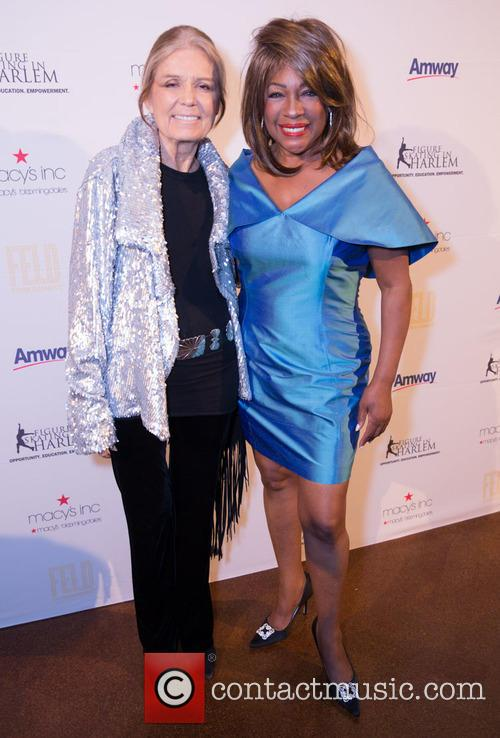 Gloria Steinem and Mary Wilson 5