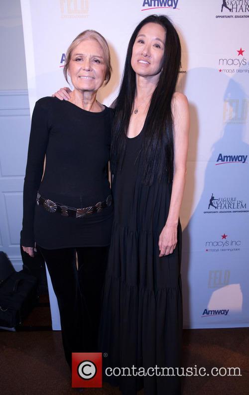 Gloria Steinem and Vera Wang 2