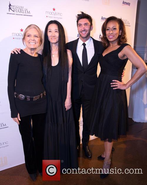 Gloria Steinem, Vera Wang, Evan Lysacek and Tamara Tunie 3