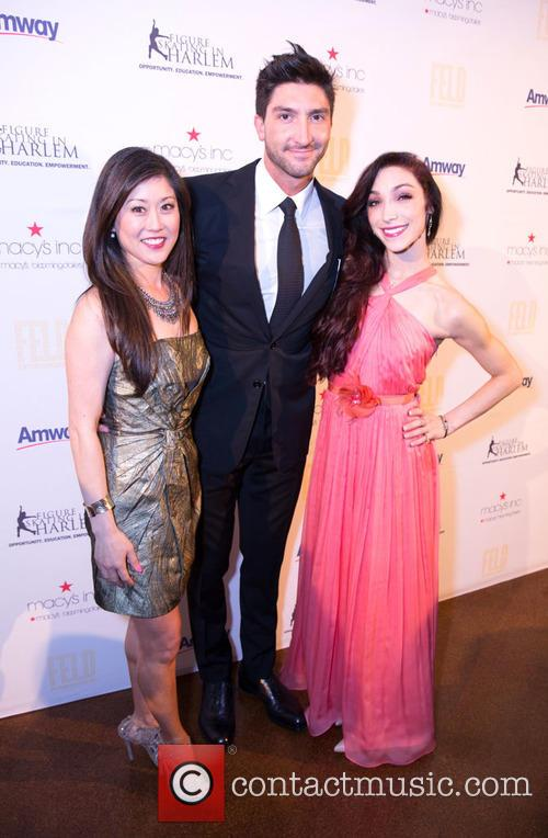 Kristi Yamaguchi, Evan Lysacek and Meryl Davis