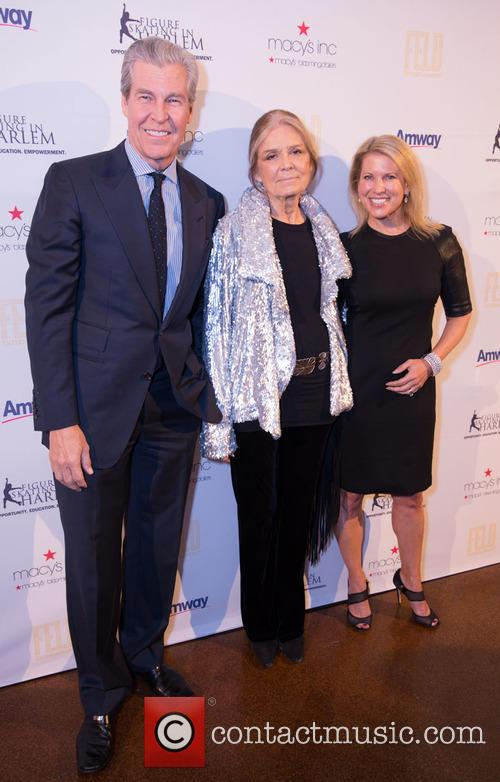 Terry Lundgren, Gloria Steinem and Tina Lundgren 5
