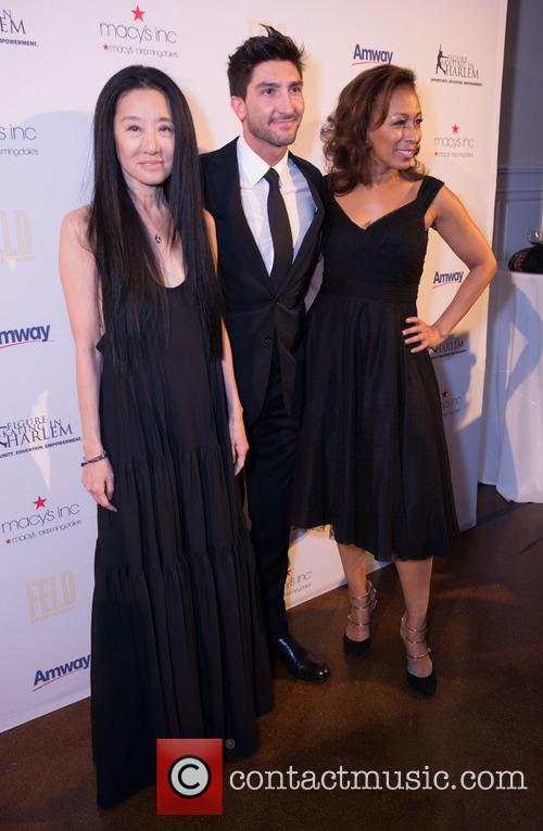 Vera Wang, Evan Lysacek and Tamara Tunie 2