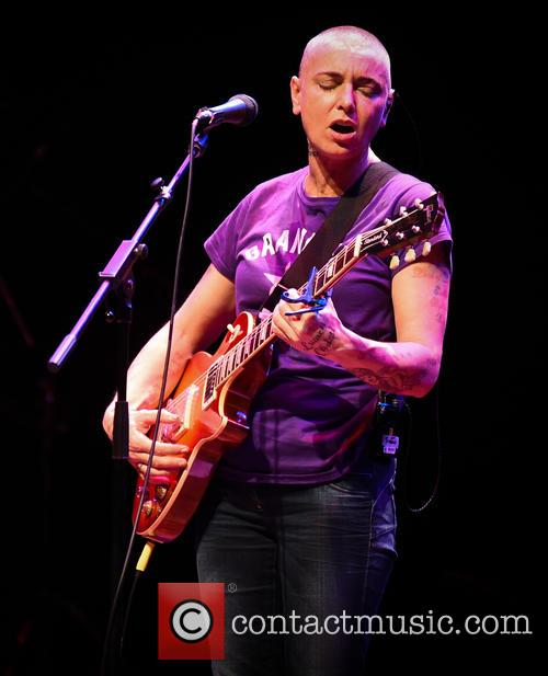 Sinead O'Connor performing live