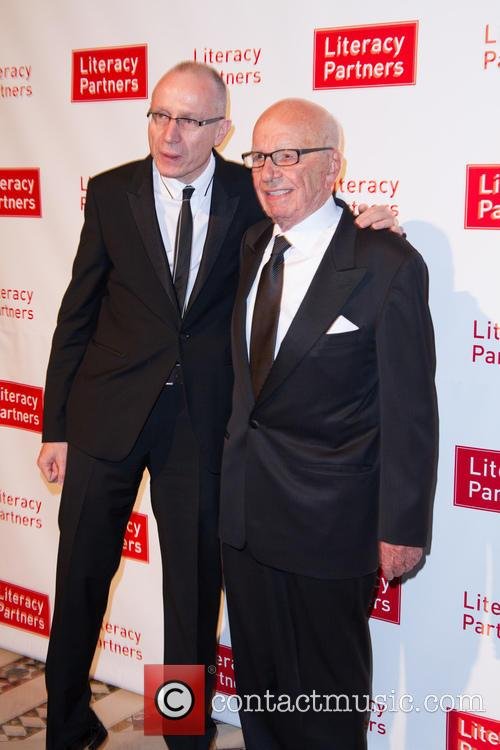 Tom Brokaw and Rupert Murdoch 3