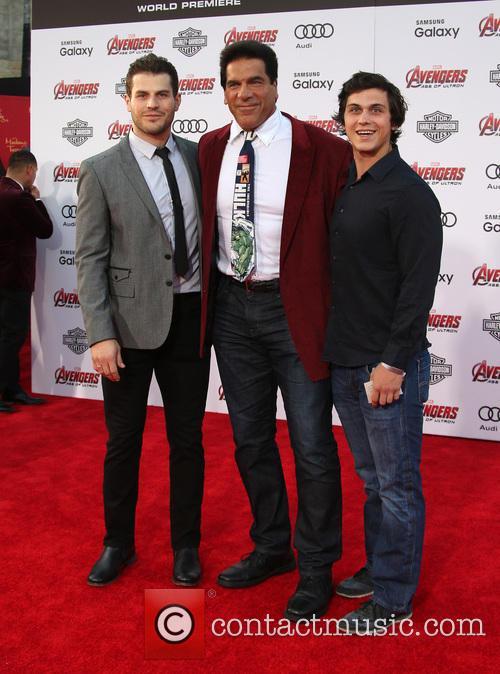 Brent Ferrigno and Lou Ferrigno 2