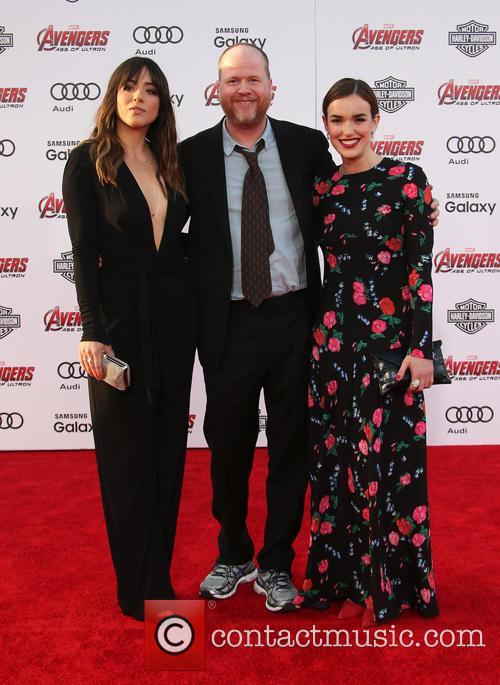 Chloe Bennet, Joss Whedon and Elizabeth Henstridge 8