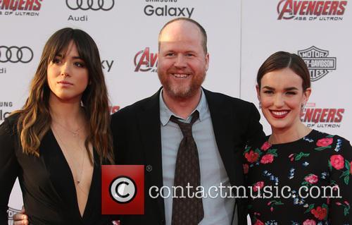 Chloe Bennet, Joss Whedon and Elizabeth Henstridge 9