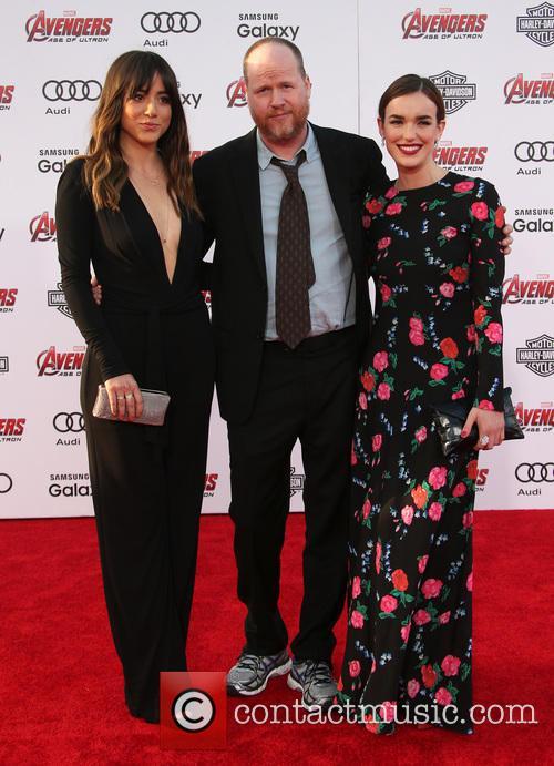 Chloe Bennet, Joss Whedon and Elizabeth Henstridge 10