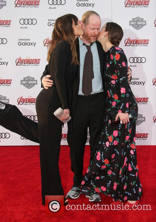 Chloe Bennet, Joss Whedon and Elizabeth Henstridge 11