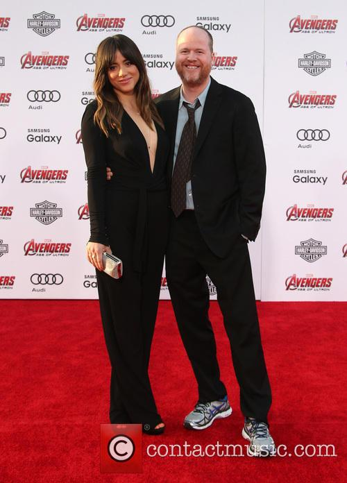 Chloe Bennet and Joss Whedon 6