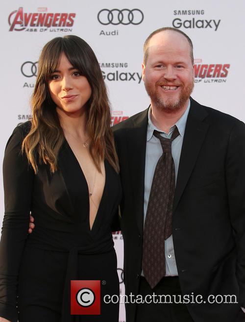 Chloe Bennet and Joss Whedon 7