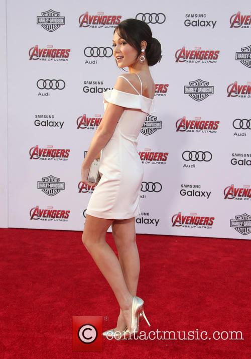 Kelli Berglund and Avengers 3