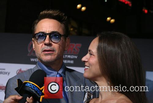 Robert Downey Jr. and Susan Downey 6