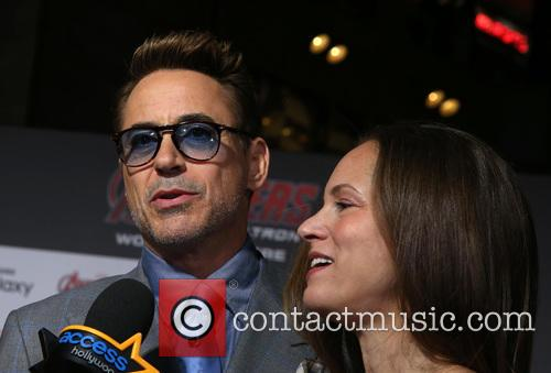 Robert Downey Jr. and Susan Downey 7