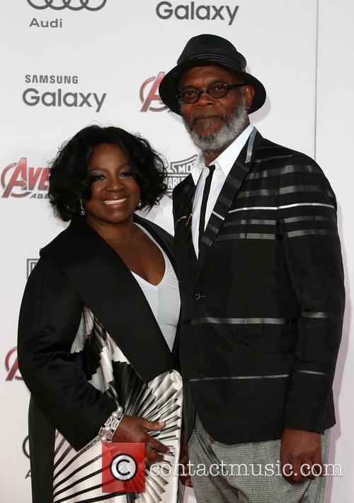Samuel L. Jackson and Latanya Richardson 1