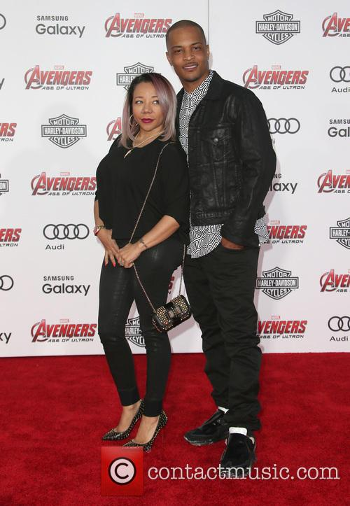 Tameka Cottle and T.i. 2