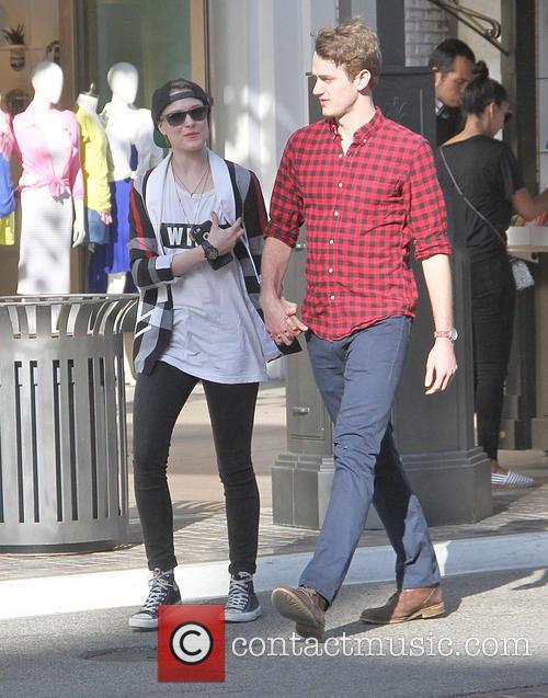 Evan Rachel Wood and Michael Thomas Grant 4