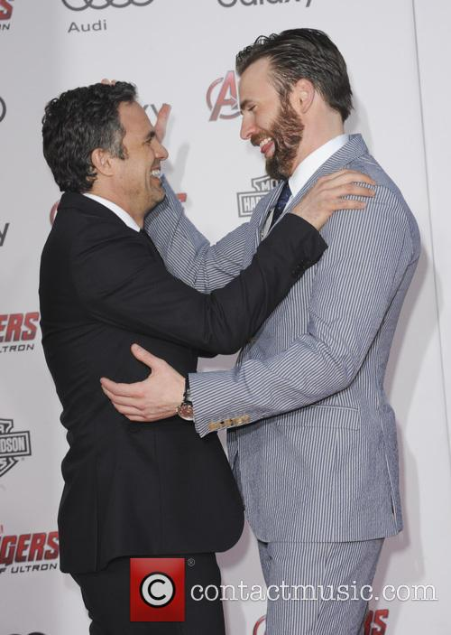 Mark Ruffalo and Chris Evans 5