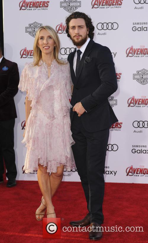 Sam Taylor-johnson and Aaron Taylor-johnson 10