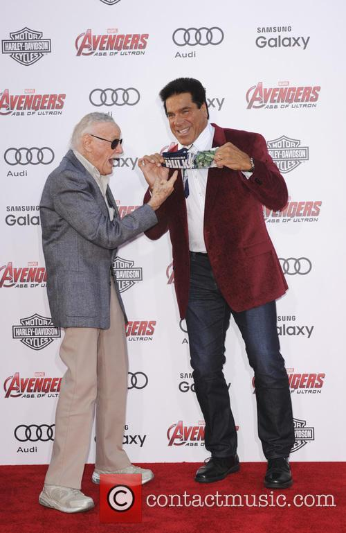Stan Lee and Lou Ferrigno 2