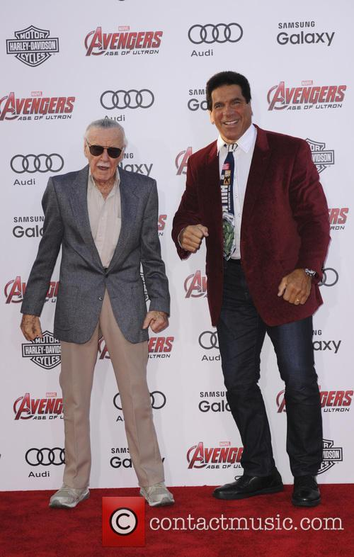 Stan Lee and Lou Ferrigno 1