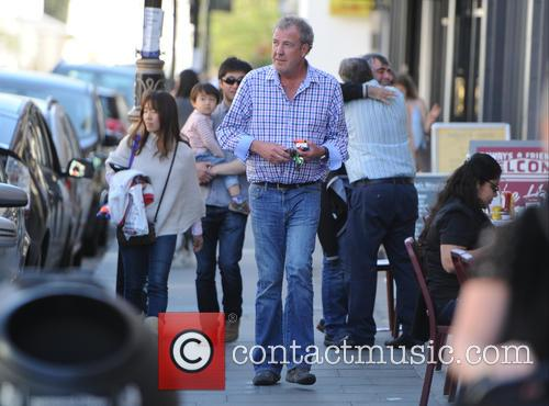Jeremy Clarkson out in London