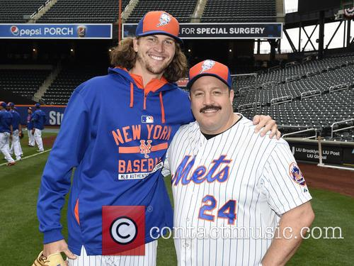 Kevin James and Jacob Degrom 5