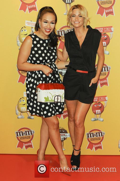 Rebecca Ferguson and Sarah Harding 5
