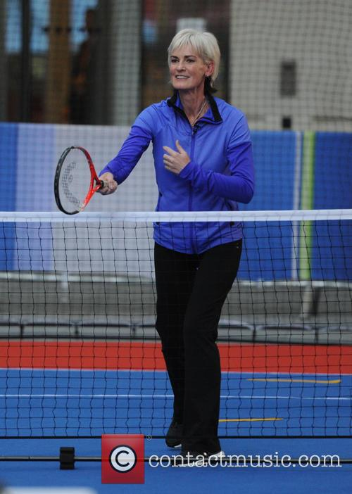 Judy Murray on the One Show in London