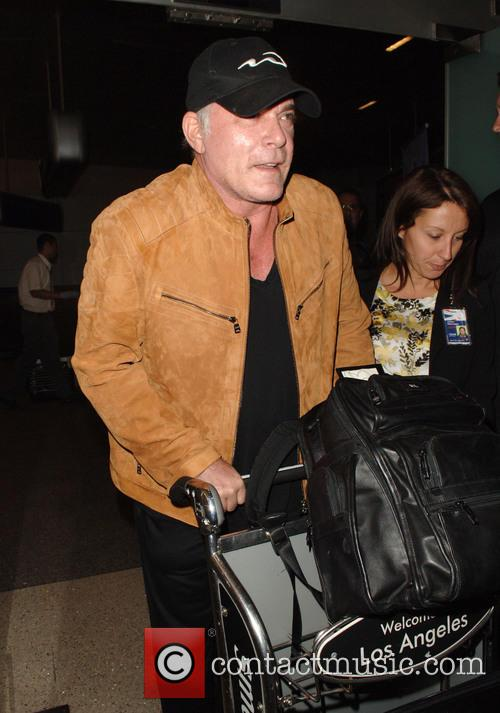Ray Liotta arrives at Los Angeles International (LAX)...