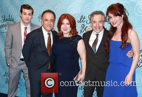 Nick Spangler, Adam Heller, Anne L. Nathan, Chip Zien and Sierra Boggess 3