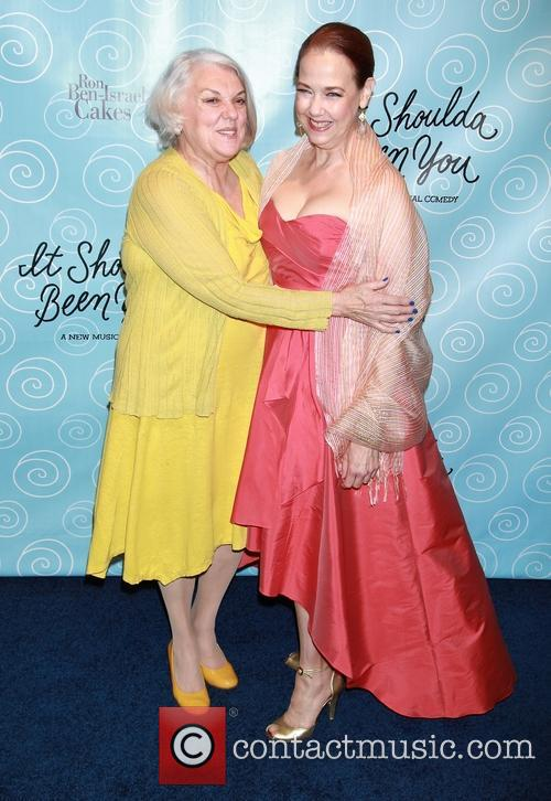 Tyne Daly and Harriet Harris 2