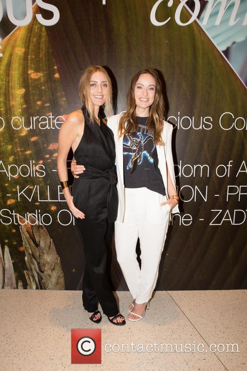 Barbara Burchfield and Olivia Wilde 1