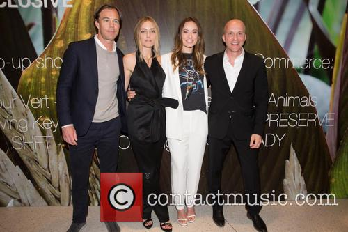Karl-johan Persson, Barbara Burchfield, Olivia Wilde and Daniel Kulle 4