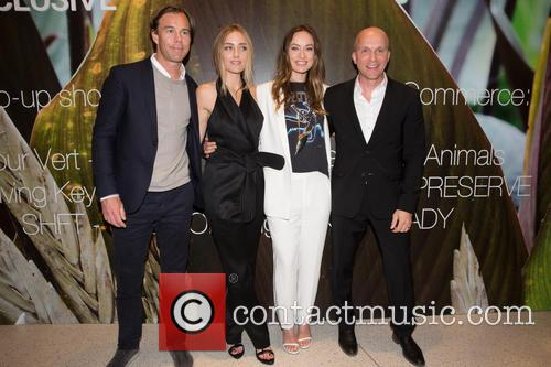 Karl-johan Persson, Barbara Burchfield, Olivia Wilde and Daniel Kulle 5