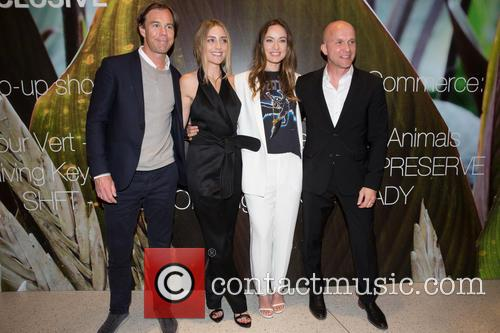 Karl-johan Persson, Barbara Burchfield, Olivia Wilde and Daniel Kulle 6