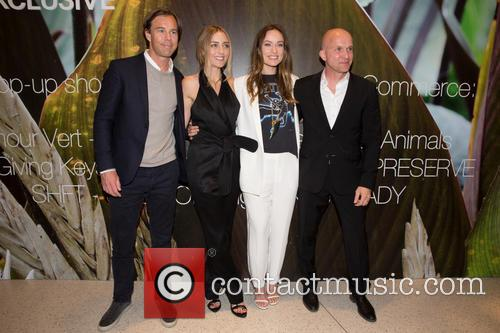 Karl-johan Persson, Barbara Burchfield, Olivia Wilde and Daniel Kulle 7
