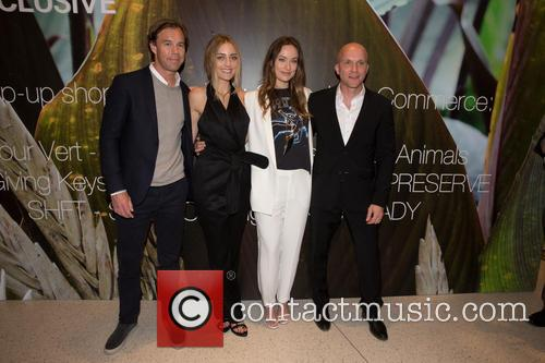 Karl-johan Persson, Barbara Burchfield, Olivia Wilde and Daniel Kulle 1