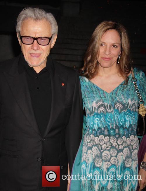 Harvey Keitel and Daphna Kastner 2