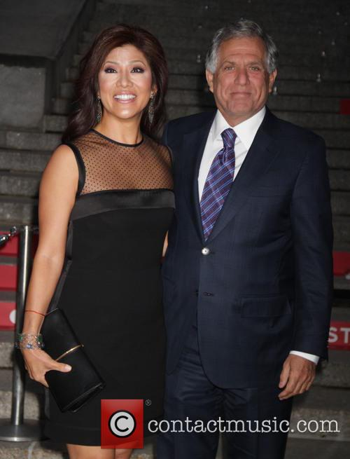 Les Moonves and Julie Chen 2