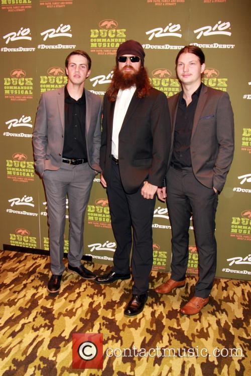 Cole Robertson, Jase Robertson and Reed Robertson 2