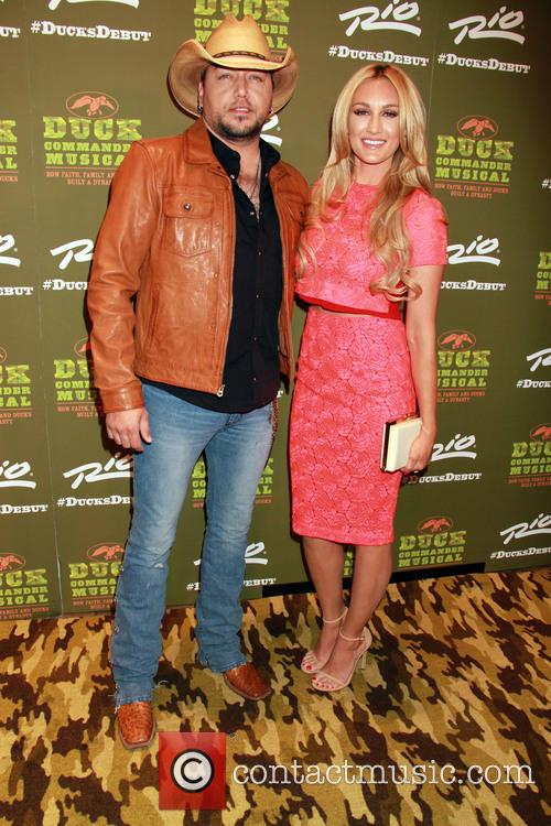 Jason Aldean and Brittany Kerr Aldean 1