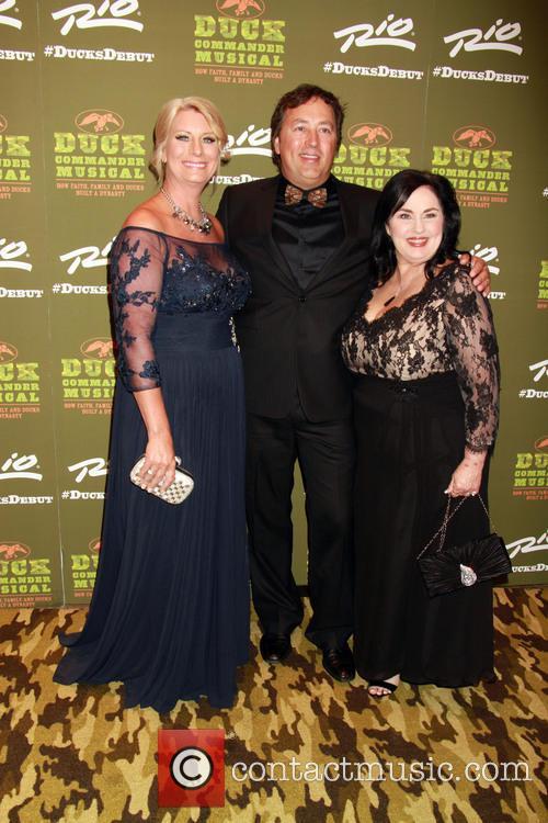Lisa Robertson, Alan Robertson and Miss Kay Robertson 2