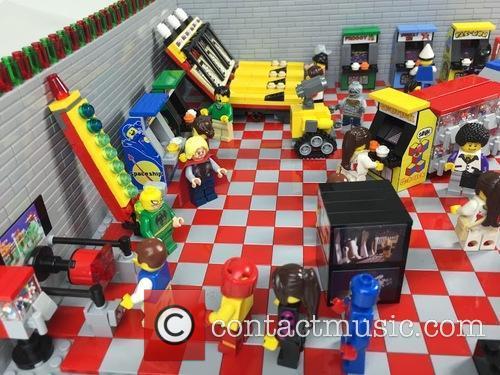 Eighties Retro Lego Arcade 2