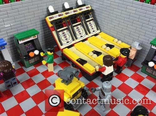 Eighties Retro Lego Arcade 8