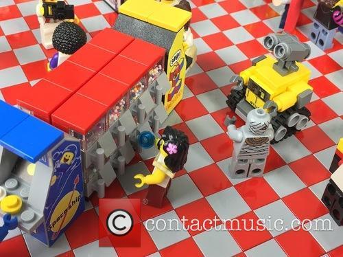 Eighties Retro Lego Arcade 1