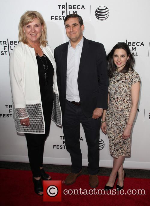 (l-r) Senior Executive Vice President Of At&t Lori Lee, President Of Tribeca Enterprises Jon Patricof and President Of At&t New York Marissa Shorenstein 7