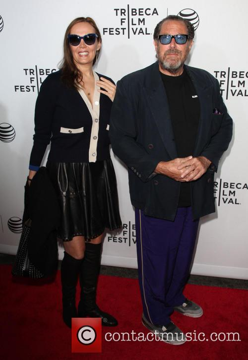 Olatz Lopez Garmendia and Julian Schnabel